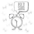 School design over white background vector illustration Stock Images