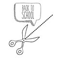 School design over white background vector illustration Royalty Free Stock Photography