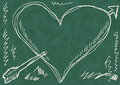 School doodle love background and texture Royalty Free Stock Image