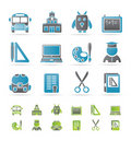 School and education objects Royalty Free Stock Photos