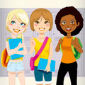 School Friends Royalty Free Stock Images