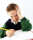 School kid. Royalty Free Stock Photography