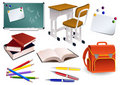 School objects Stock Image