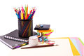 School and office stationary. Back to school concept Royalty Free Stock Image