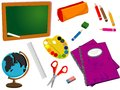 School or office supplies Royalty Free Stock Photos