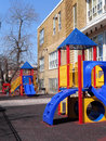 School playground Stock Image