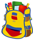 School satchel Royalty Free Stock Photography