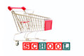 School Shopping Royalty Free Stock Photos
