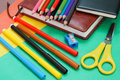 School stationery Royalty Free Stock Photo