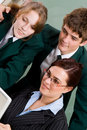 School teacher and students Royalty Free Stock Photography
