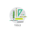 School Tools Study Process University Education Icon