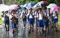 Schoolboys in uniform Royalty Free Stock Photo