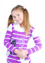 Schoolgirl Royalty Free Stock Photo