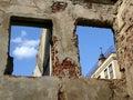 Schutt im oldtown Lizenzfreie Stockfotos