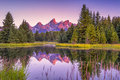 Schwabacher's Landing at Dawn Royalty Free Stock Photo