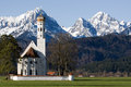 Schwangau church Royalty Free Stock Photos