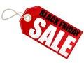 Schwarzer Freitag-Verkauf Stockfotografie