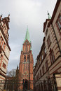 Schwerin cathedral in mecklenburg vorpommern germany Royalty Free Stock Images