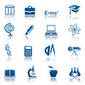 Science & education icon set Stock Photo