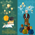 Science and education online education study students university Royalty Free Stock Photo