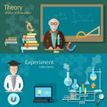 Science and education: teachers school board professor