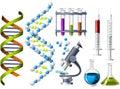 Veda a genetika ikony