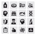 Science icon Royalty Free Stock Images