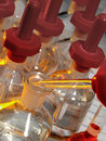 Science Laboratory - Reagent Bottles Royalty Free Stock Image