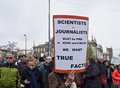 Science March Munich Germany on April 22 2017