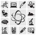 Science set Stock Photos