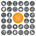 Science vector set vector eps Royalty Free Stock Photo