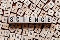 stock image of  Science word concept