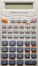 Scientific calculator background Royalty Free Stock Photo