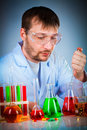 Scientist Royalty Free Stock Photos
