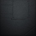 Scifi wall. metal wall and black carbon fiber. metal background. Royalty Free Stock Photo