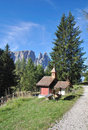 Sciliar mountain,south tyrol Stock Photography