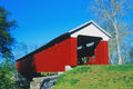 Scipio Covered Bridge Royalty Free Stock Photo