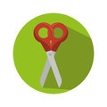 Scissor school supply icon