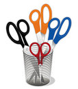Scissors Collection Stock Photo