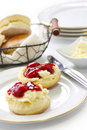 Scone , afternoon tea Stock Image
