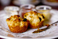 Scones on plate Royalty Free Stock Photos