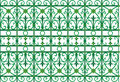 Scoop grating fence pattern Stock Photos