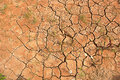 Scorched earth during drought Stock Image