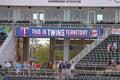 The Scoreboard Inside Hammond Stadium Royalty Free Stock Photo