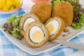 Scotch Egg Royalty Free Stock Photo