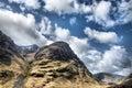 Scotch mountain Stock Photo