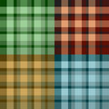 Scotland pattern Royalty Free Stock Photo