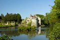 Scotney castle in united kingdom Stock Images