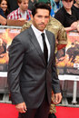 Scott adkins arriving for the uk premiere of the expendables at the empire cinema in leicester square london picture by steve vas Royalty Free Stock Photo