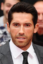 Scott adkins arriving for the uk premiere of the expendables at the empire cinema in leicester square london picture by steve vas Stock Image